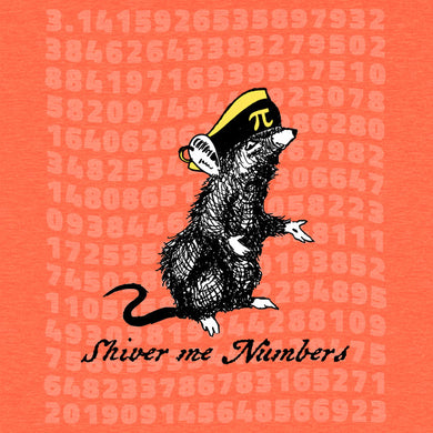 Pirat - Shiver me Numbers Funny T-Shirt