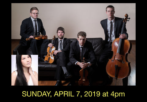 Hsing-ay Hsu & the Altius String Quartet