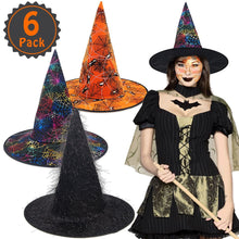 6 Pack Witch Hat! Great Deal!