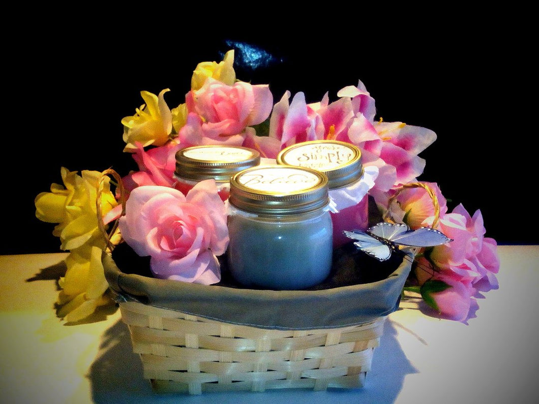 Mason Jar Container Candles