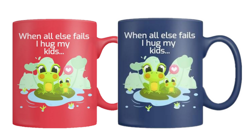 2 Froggy Mugs
