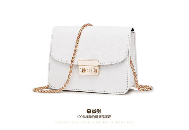 2016 New Fashion Solid Color Small Package Portable Bag Women crossbody bags ladies shoulder purse and handbags bolsas feminina