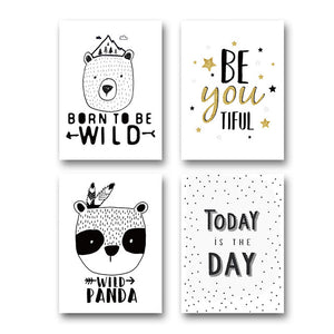 Motivational Quotes w/ Pandas