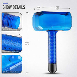 Thor's Hammer Water Bottle 1.7L