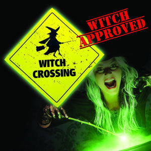 Witch Crossing Sign