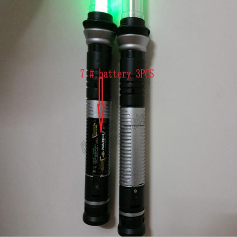 LED LIGHT SABER WITH SOUND EFFECTS & COLOR CHANGING ABILITIES