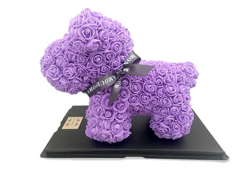 PURPLE ROSE PUPPY