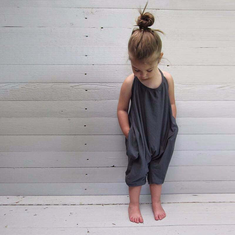 Girls Summer Jumpsuit