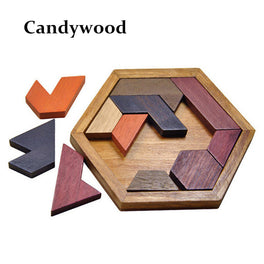 Wooden Jigsaw Board