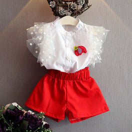 2PCS Sleeveless Shirt + Shorts