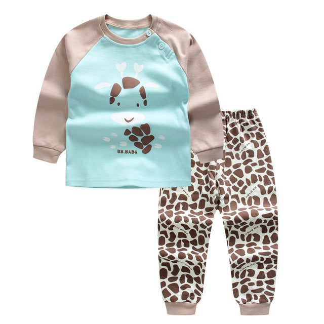 2pc Baby Girl Shirt+Pants