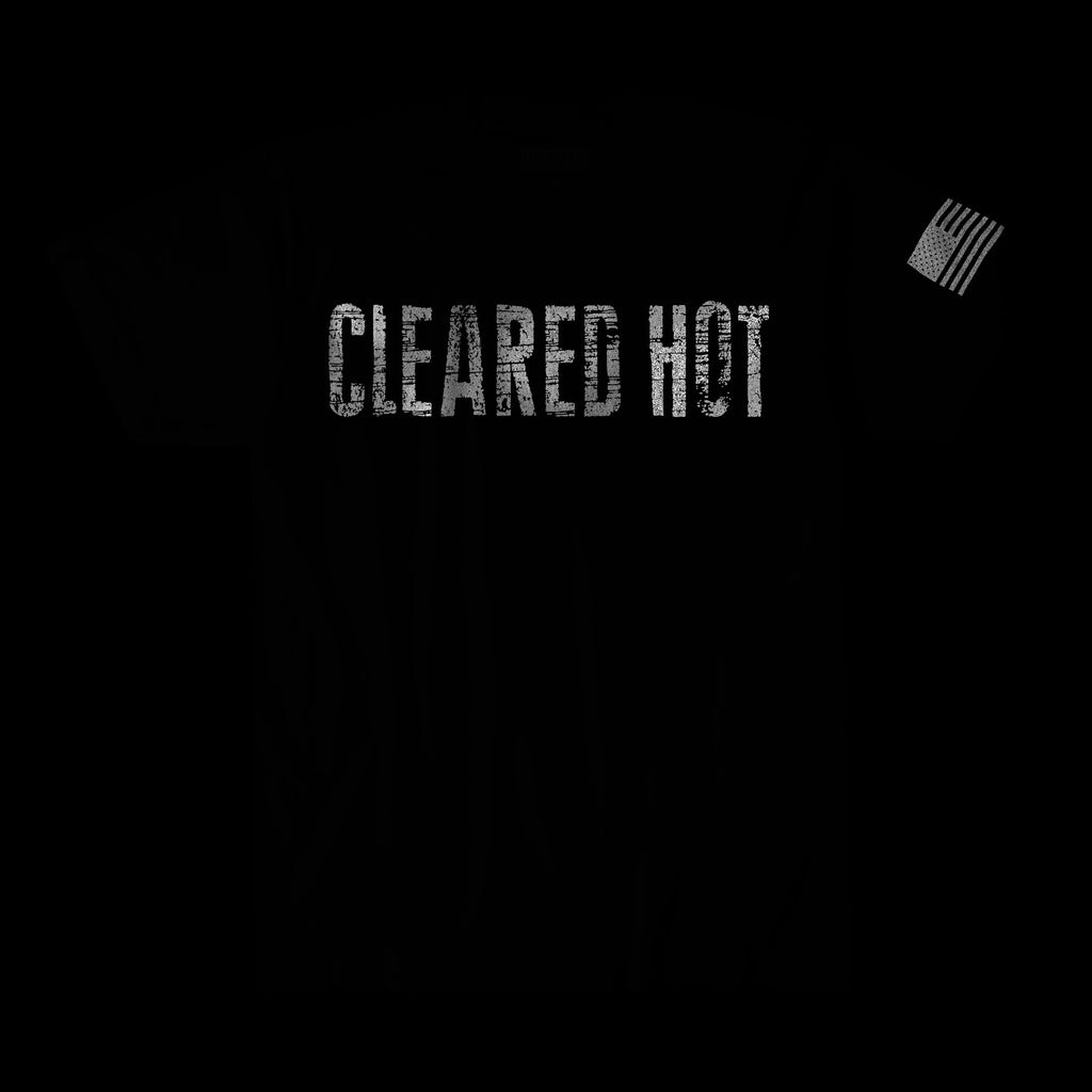 Cleared Hot Tee - Heavy Metal Reflective