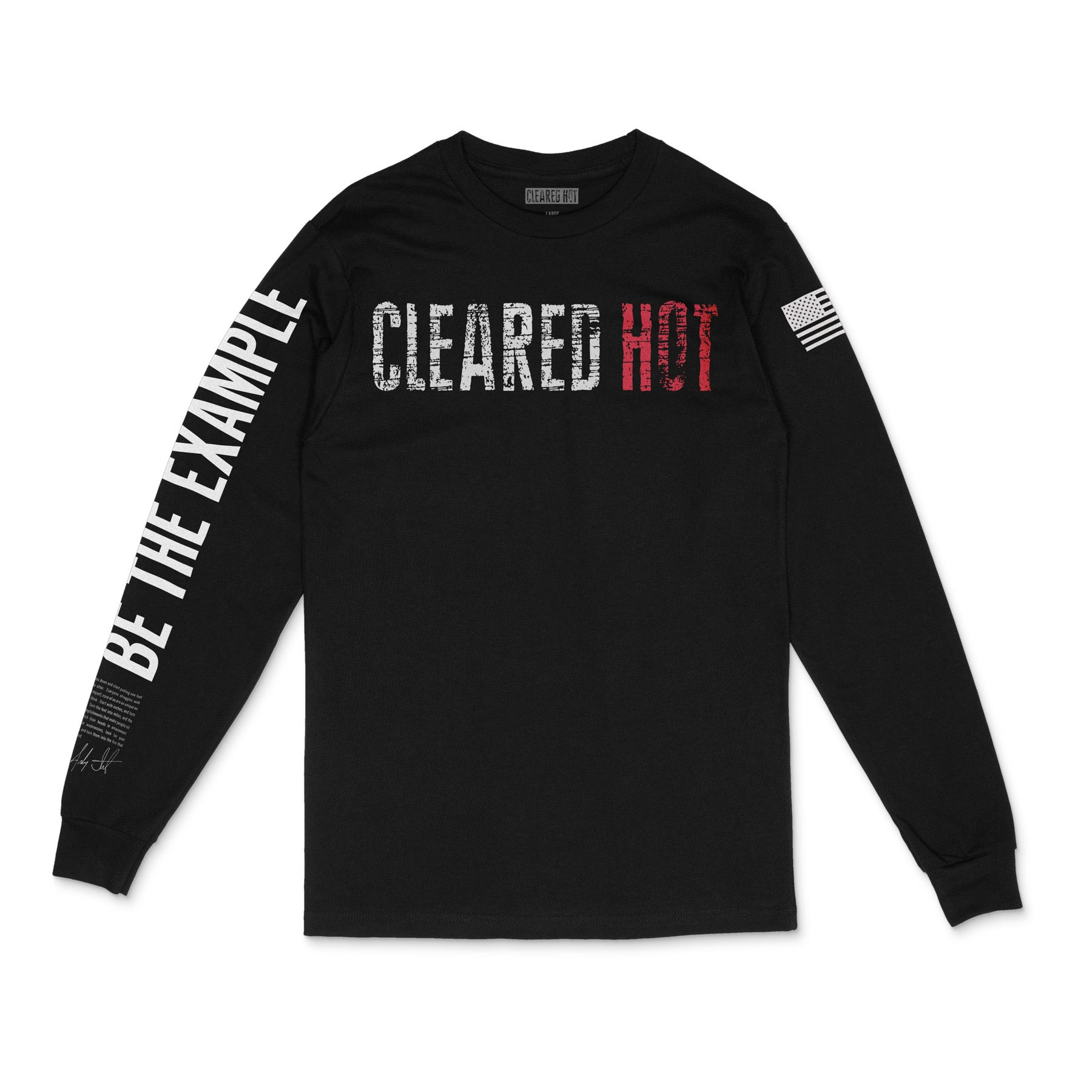 Cleared Hot Long Sleeve - Black