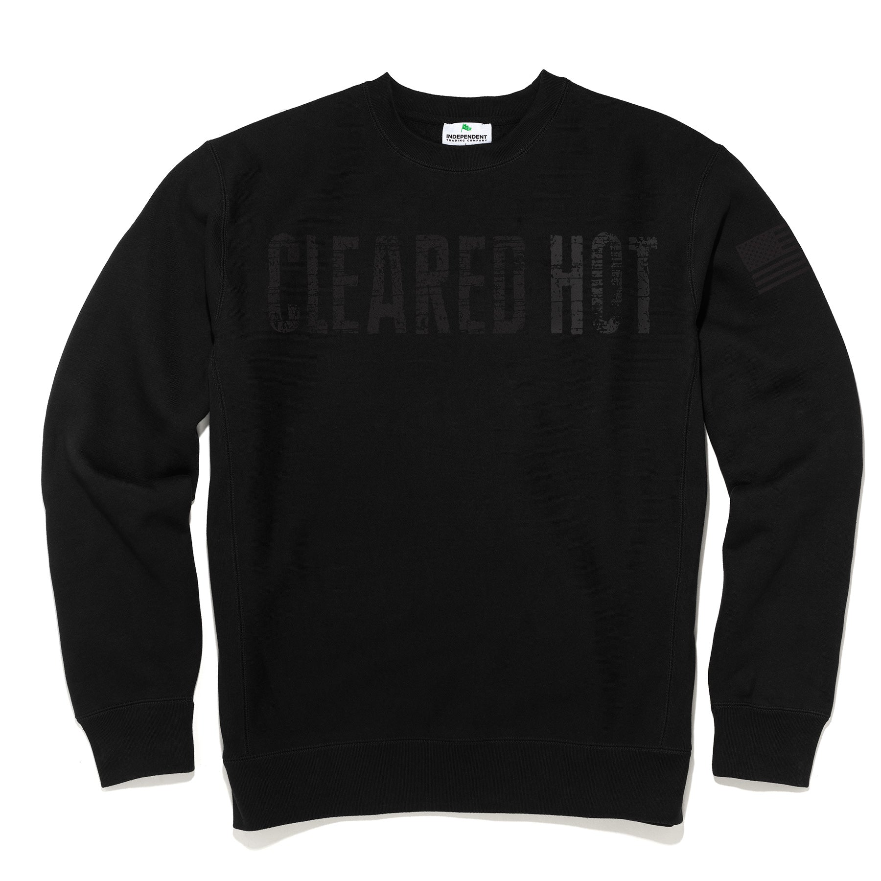 Cleared Hot Sweatshirt - Black