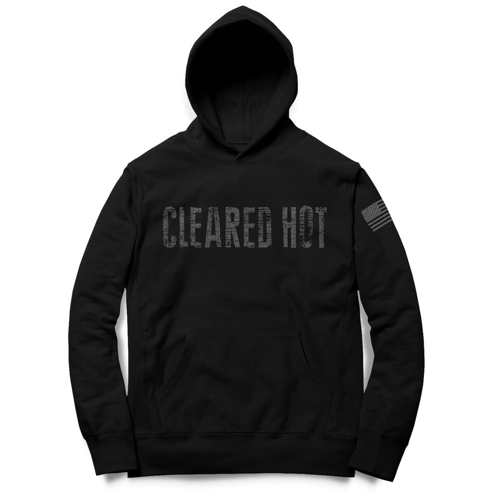 Cleared Hot Hoodie - Black
