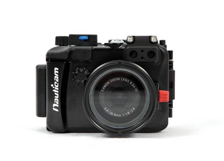 NA-G7X housing for Canon PowerShot G7X camera
