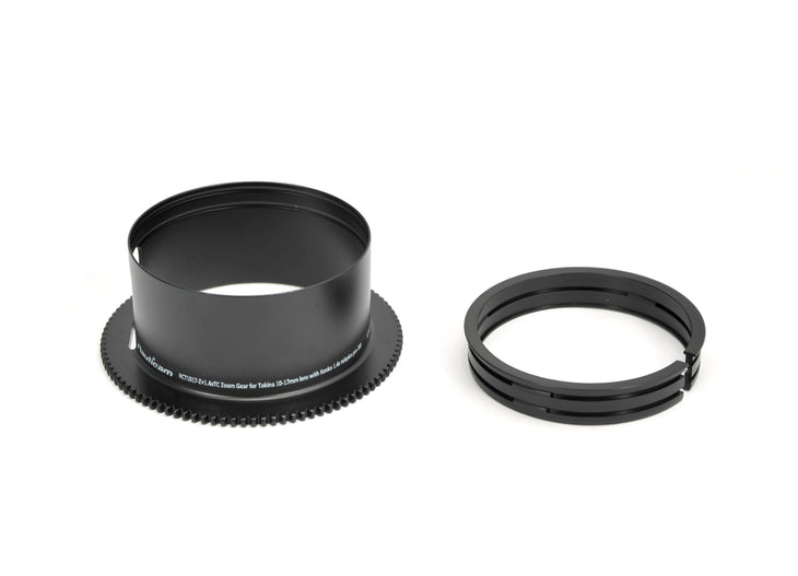RCT1017-Z+1.4xTC Zoom Gear ~for Tokina 10-17mm with Kenko 1.4x TelePlus Pro 300