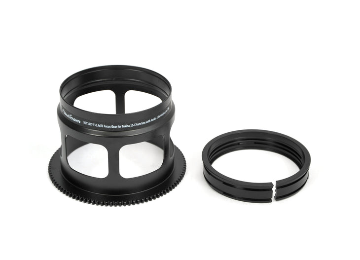 RCT1017-F+1.4xTC Focus Gear ~for Tokina 10-17mm with Kenko 1.4x Teleplus Pro 300