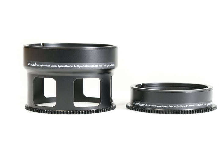 Cinema System Gear Set for Sigma 14-24mm F2.8 DG HSM Art Lens