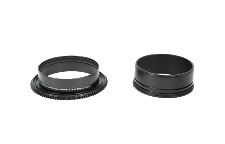 SC15-F Focus Gear ~for Sigma 15mm F2.8 EX DG Diagonal Fisheye
