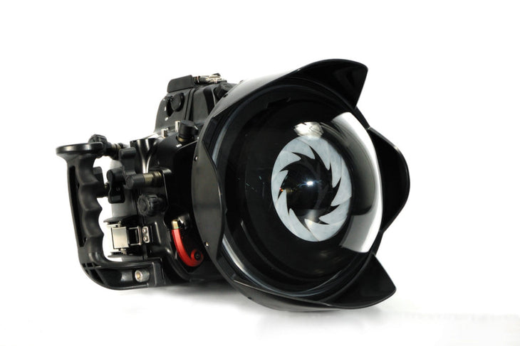 9'' Optical-Glass White Balance Wide-Angle Dome Port