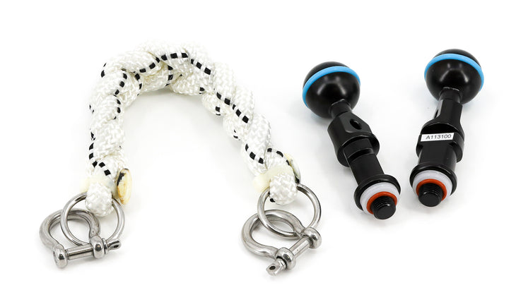 20cm Lanyard ~With M10 Strobe Mounting Ball Set