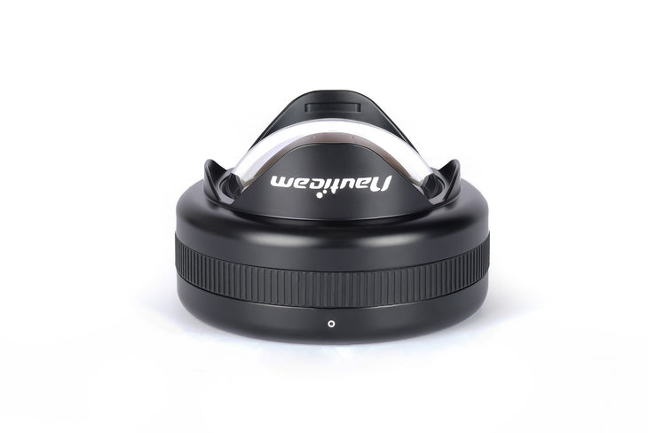 Wet Wide Lens 1B (WWL-1B) 130 deg. FOV with compatible 28mm lenses (incl. float collar)