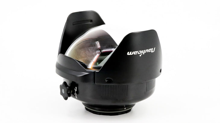 0.57x Wide Angle Conversion Port 2 (WACP-2) ~140 Deg. FOV with Compatible 14mm Lenses (incl. float collar)