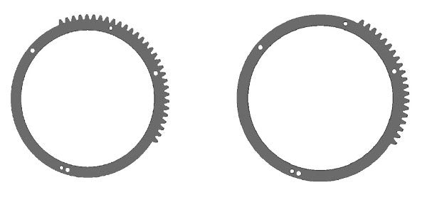 Gear Ring for O1250-Z to use with MIL Housings Except NA-GH5