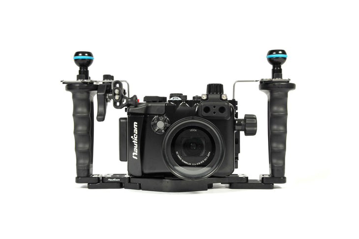 NA-LX10 Pro Package Housing for LX10 Includes Flexitray, Right Handle, Two Mounting Balls, M14 Vacuum Valve, Shutter Extension