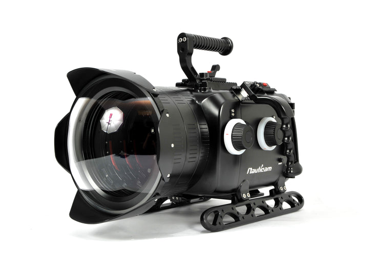 Digital Cinema System for ARRI ALEXA Mini Camera ~Includes N200 250mm Optical-Glass Wide-Angle Dome Port, N200 Extension Rings 30, 40 and 50, and Lens Control Drive Shafts