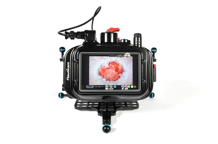 Nauticam Atomos Flame Housing for Shogun and Ninja Flame/Inferno 7'' 10-bit 4K/HD SDI/HDMI Recorder/Monitor/Player