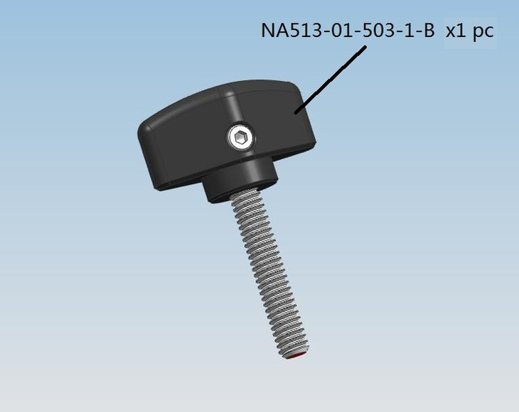Thumb Screw for NA-C200 housing NA513-01-503-1-B (1pc)