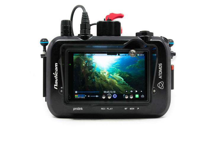 Nauticam Atomos Shogun Housing for Atomos Shogun 10-bit 4K SDI/HDMI Recorder/Monitor/Player (with SDI input)