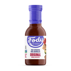 Low FODMAP <b><big><br>BBQ Sauce </big></b><br>(Large Format, 340g) <br><small>No Onion & Gluten Free!</small>