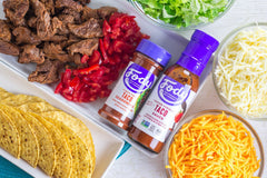 Low FODMAP <br><b><big>Taco Sauce </big></b><br><small>No Onion, No Garlic, Lactose & Gluten Free</small>