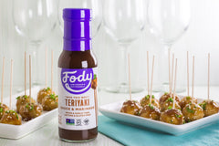 Low FODMAP <br><b><big>Teriyaki <br>Sauce & Marinade </big></b><br><small>No Onion, No Garlic, Lactose & Gluten-Free!</small>
