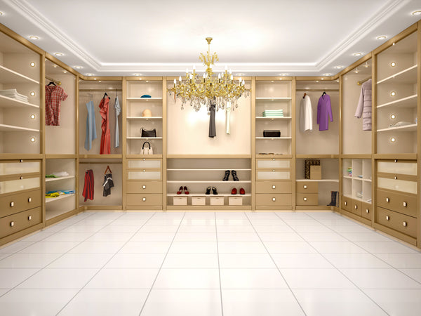 What Type of Fixtures are Needed for Your Walk-In Closet? - Part I