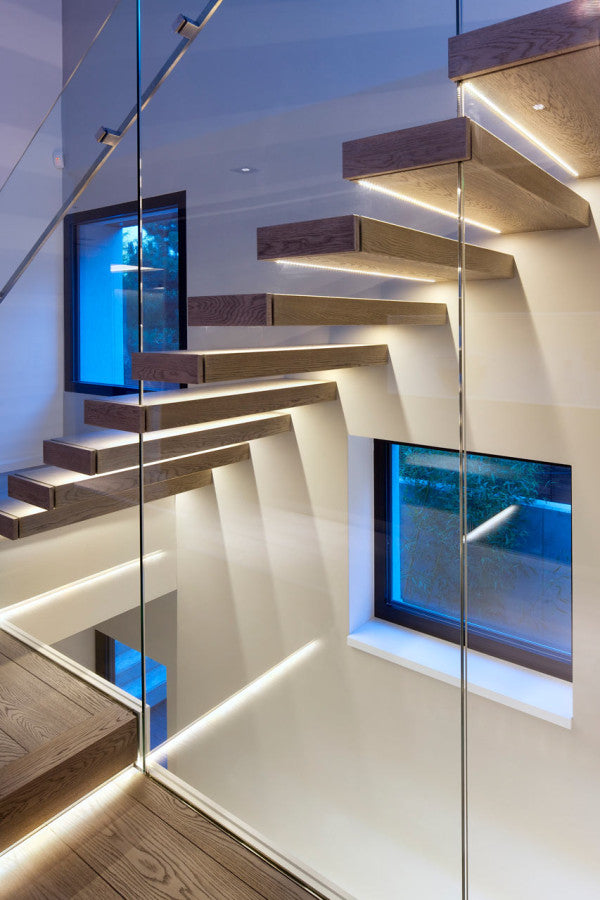 TOP 5 Reasons You Should Use LED Strip Lights For Your Stairs