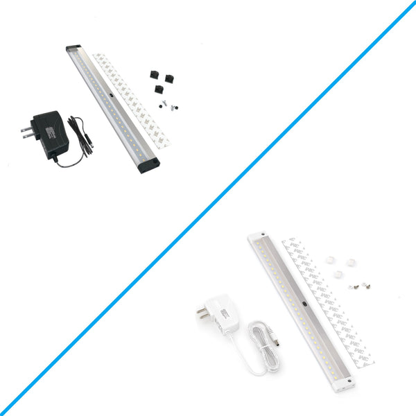 12 inch Panel LED Dimmable Under Cabinet Lighting - Deluxe Kit