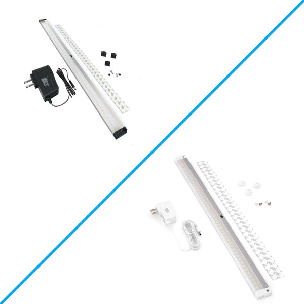 Extra Long 20 inch LED Dimmable Under Cabinet Lighting - Deluxe Kit