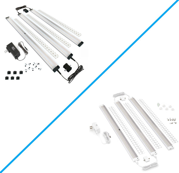 3 Extra Long 20 inch Panels LED Dimmable Under Cabinet Lighting - Deluxe Kit
