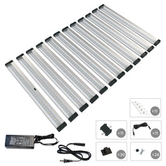 EShine | [New] 12 12 inch Panels LED Dimmable Under Cabinet Lighting - Deluxe Kit