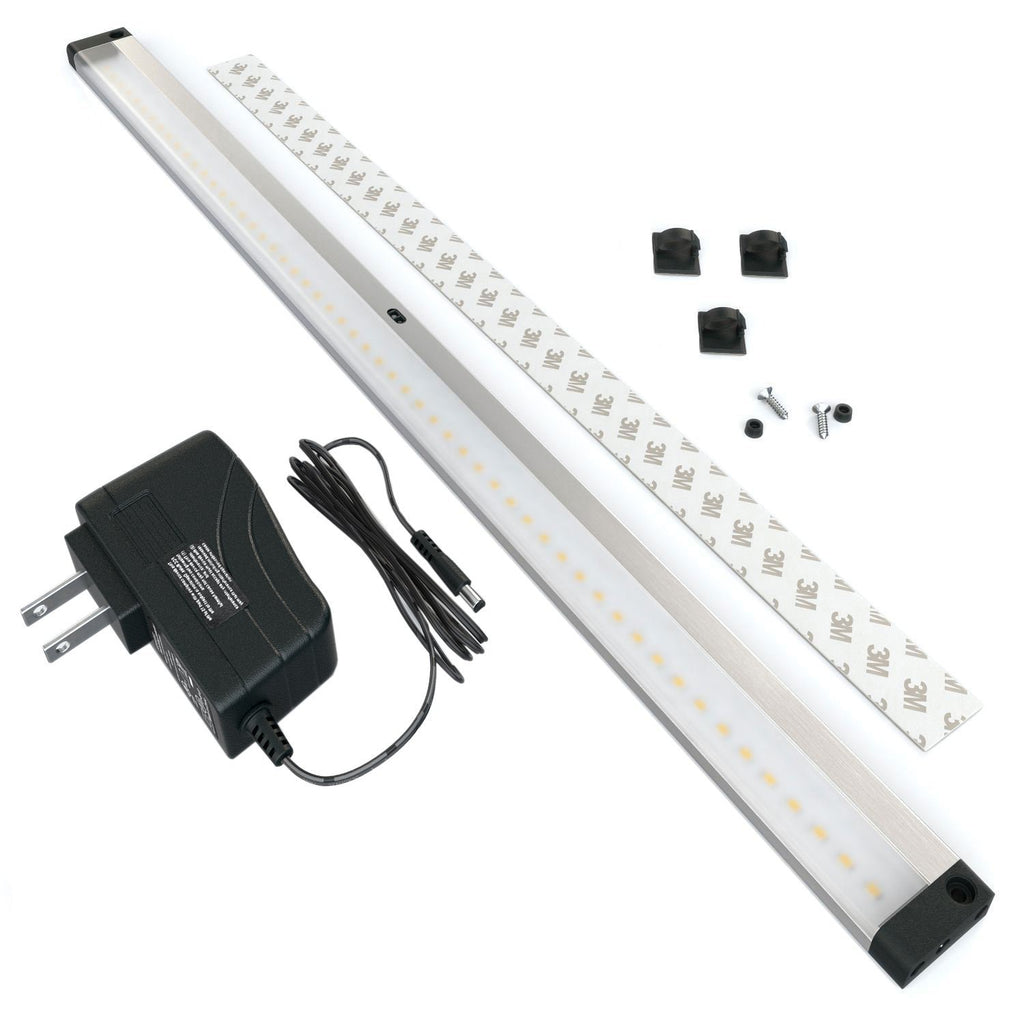 [New] Extra Long 20 inch Panels LED Dimmable Under Cabinet Lighting - Deluxe Kit