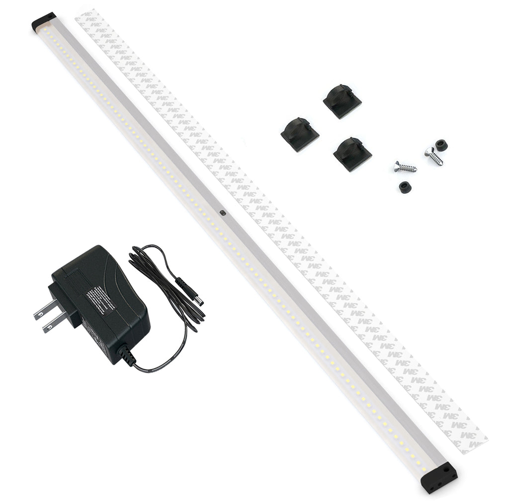 [New] Extra Long 40 inch Panels LED Dimmable Under Cabinet Lighting - Deluxe Kit