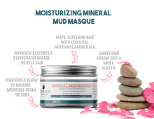 benefits OF nourish and love co mud masque deep conditioner for natural hair