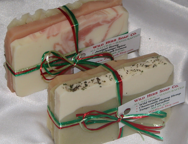 Christmas Soap Packet, Variety Large