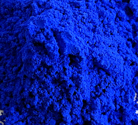 Blue, Cobalt Pigment Powder
