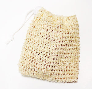 Sisal Natural Soap Pouch