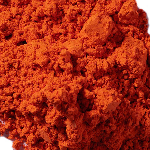 Orange Oxide Pigment Powder